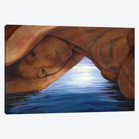 La Cueva Canvas Print #DJQ60} by David Joaquin Canvas Artwork