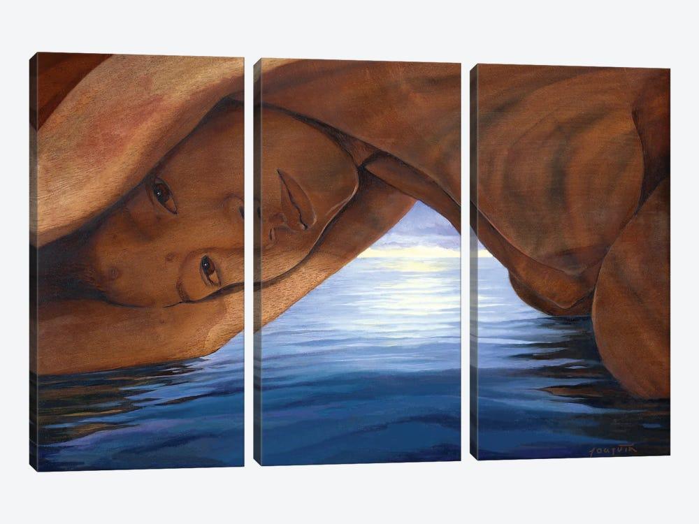 La Cueva by David Joaquin 3-piece Canvas Artwork