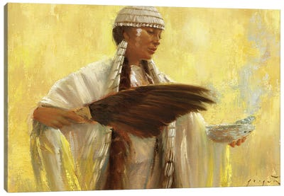 Blessings Canvas Art Print