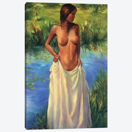 Cool Waters Canvas Print #DJQ64} by David Joaquin Art Print