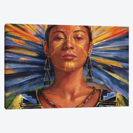 SunDancer Canvas Print #DJQ85} by David Joaquin Canvas Print