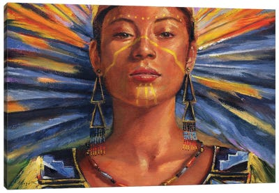 SunDancer Canvas Art Print