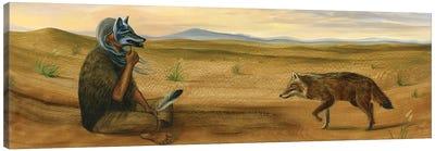 The Two Shaman Canvas Art Print