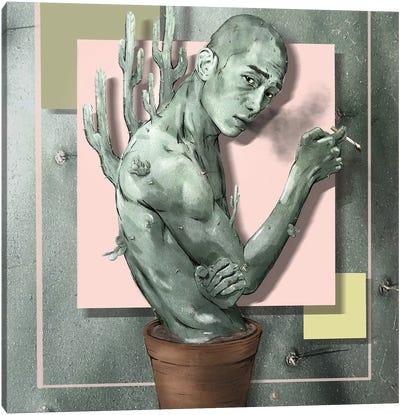 Prick Canvas Art Print