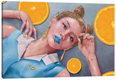 Citrus Canvas Art Print