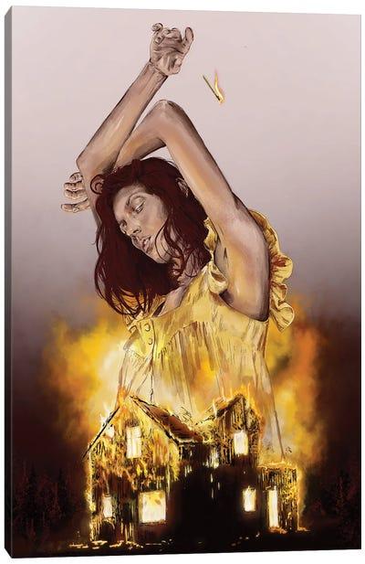 Homewrecker Canvas Art Print