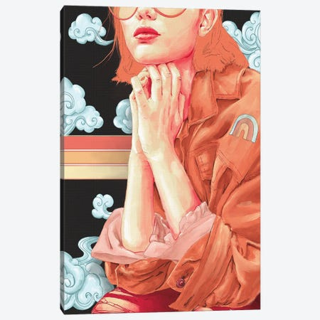 Daydreamer Canvas Print #DJS36} by Daniel James Smith Canvas Artwork