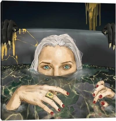 Sinking Canvas Art Print