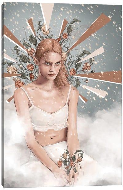 Cold Shoulder Canvas Art Print
