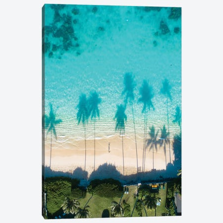 Lanikai Canvas Print #DKE15} by Daniel Keating Canvas Print