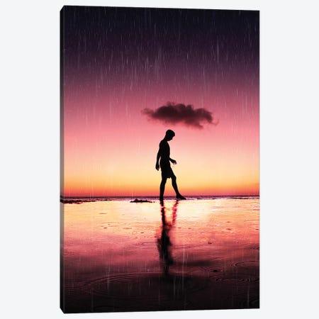 Rain Canvas Print #DKE27} by Daniel Keating Canvas Artwork