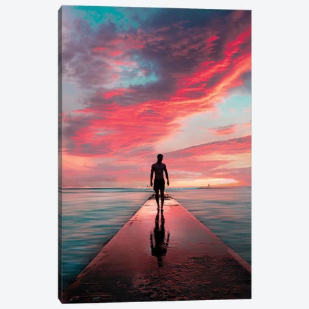 Sunset Crunch Canvas Print #DKE34} by Daniel Keating Canvas Print