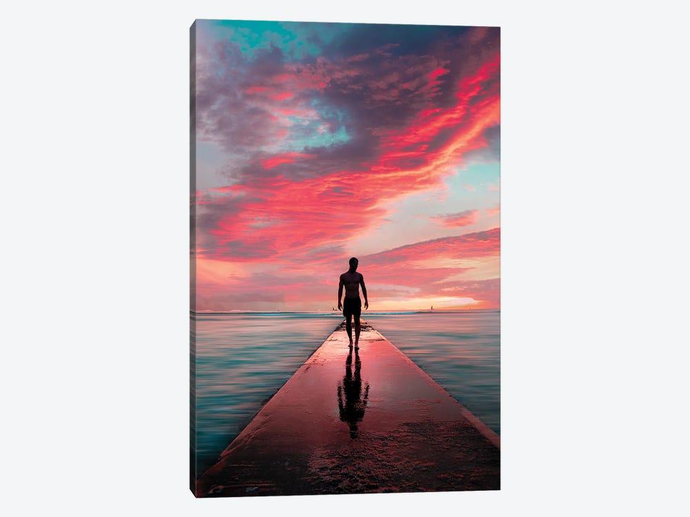 Sunset Crunch by Daniel Keating 1-piece Canvas Art Print