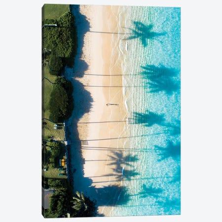 Beach View Canvas Print #DKE3} by Daniel Keating Canvas Wall Art