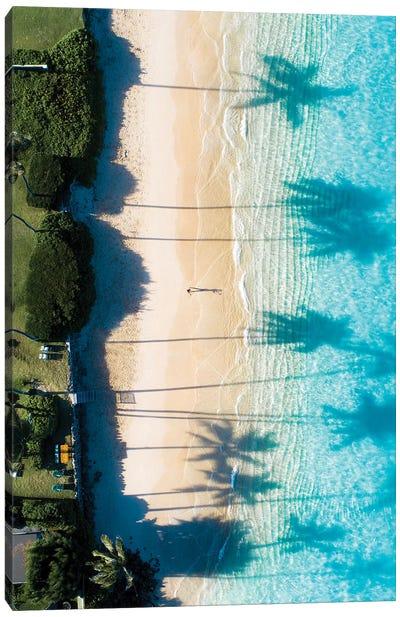 Beach View Canvas Art Print