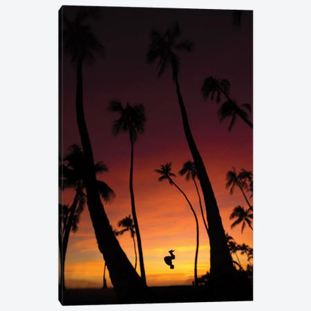 Waikiki Canvas Print #DKE40} by Daniel Keating Canvas Art Print