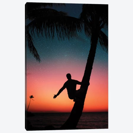 Sunrise Stars Canvas Print #DKE44} by Daniel Keating Canvas Wall Art