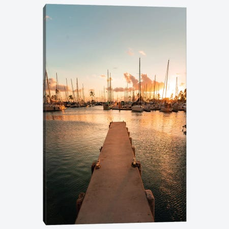 Harbor Hues Canvas Print #DKE45} by Daniel Keating Canvas Artwork