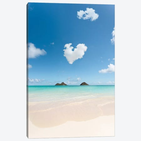 Lanikai Love Canvas Print #DKE48} by Daniel Keating Canvas Print