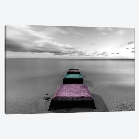 The Colorful Journey Canvas Print #DKE49} by Daniel Keating Art Print
