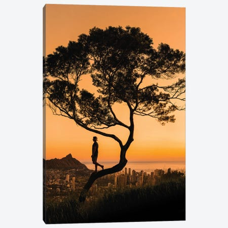 Honolulu Haze Canvas Print #DKE51} by Daniel Keating Canvas Art