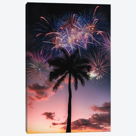 Sunset Celebration Canvas Print #DKE54} by Daniel Keating Canvas Print