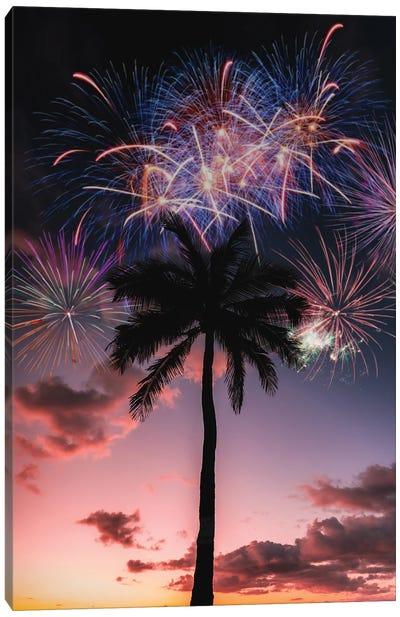 Sunset Celebration Canvas Art Print
