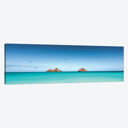 Island Blue Canvas Print #DKE58} by Daniel Keating Canvas Artwork