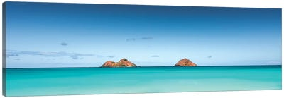 Island Blue Canvas Art Print