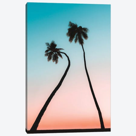 Hawaii Palms Canvas Print #DKE70} by Daniel Keating Canvas Art