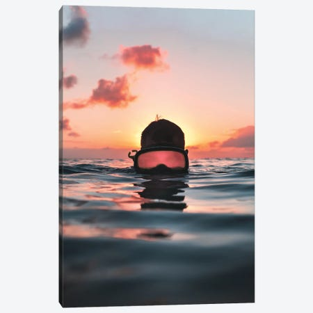 Ocean Evenings Canvas Print #DKE71} by Daniel Keating Canvas Wall Art