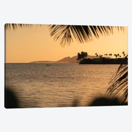 Sunset Summer Canvas Print #DKE81} by Daniel Keating Canvas Print