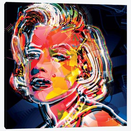 Marilyn II Canvas Print #DKK10} by Darkko Canvas Artwork