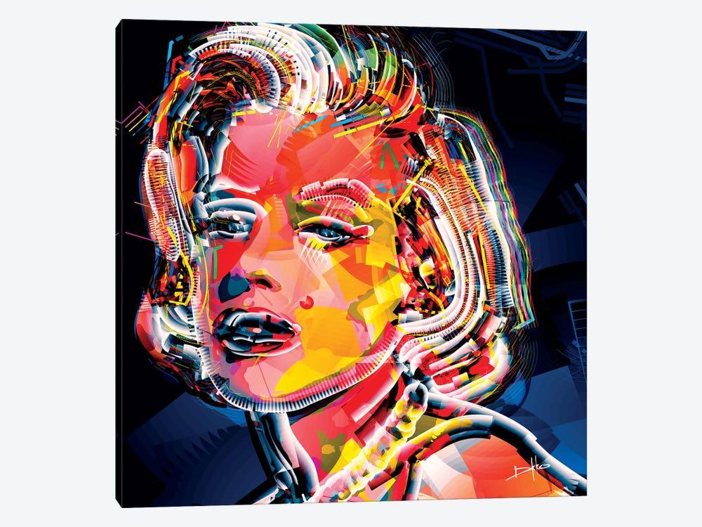 Marilyn II by Darkko 1-piece Canvas Wall Art