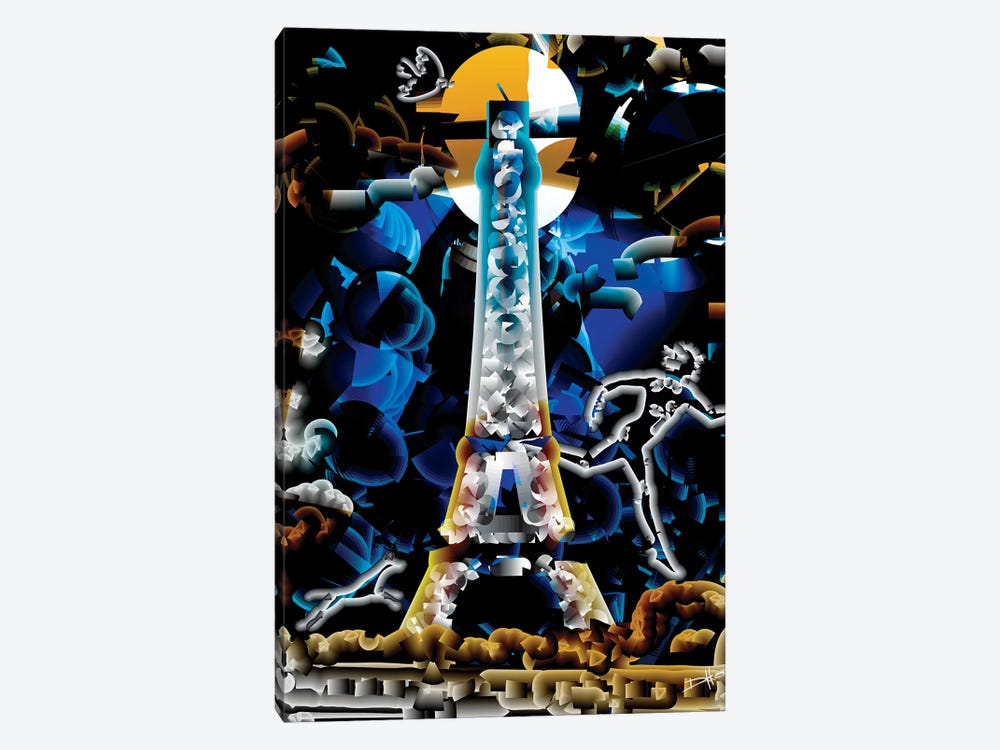 Minuit Paris by Darkko 1-piece Art Print
