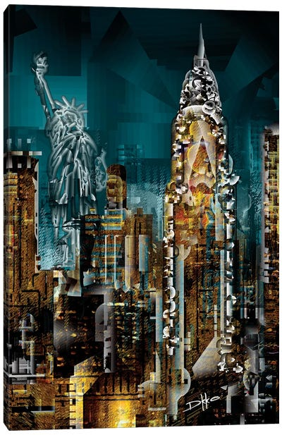 New York II Canvas Art Print