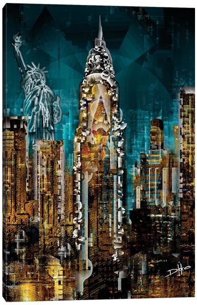 New York III Canvas Art Print