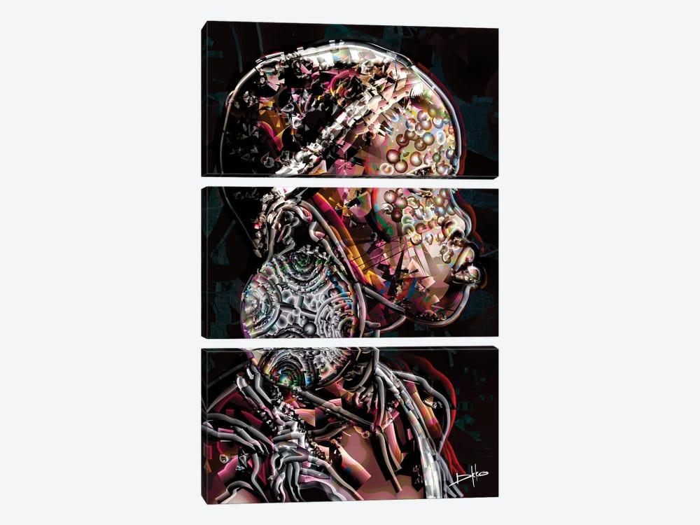 Niyyat by Darkko 3-piece Canvas Art