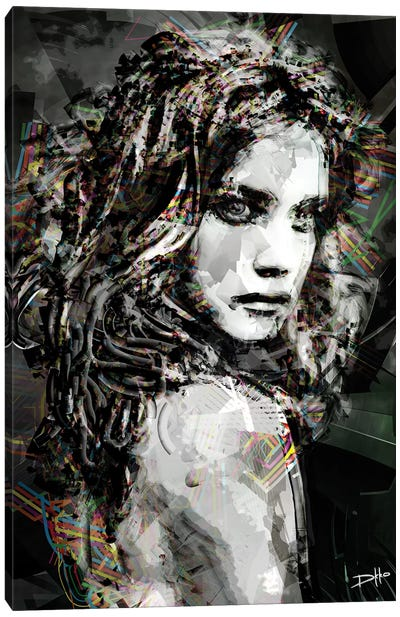 Savage Girl Canvas Art Print