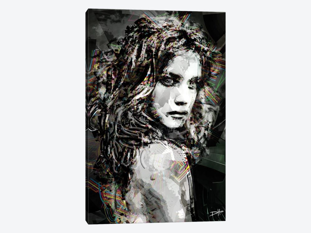 Savage Girl by Darkko 1-piece Canvas Artwork