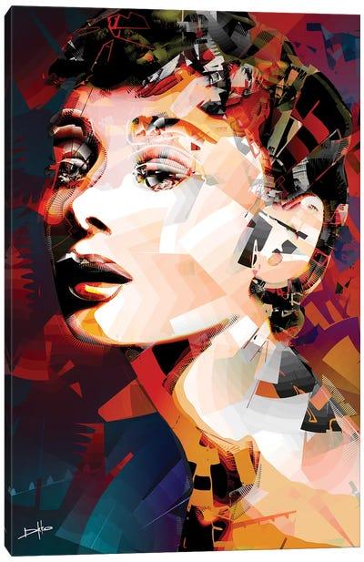 Audrey Hepburn Canvas Art Print