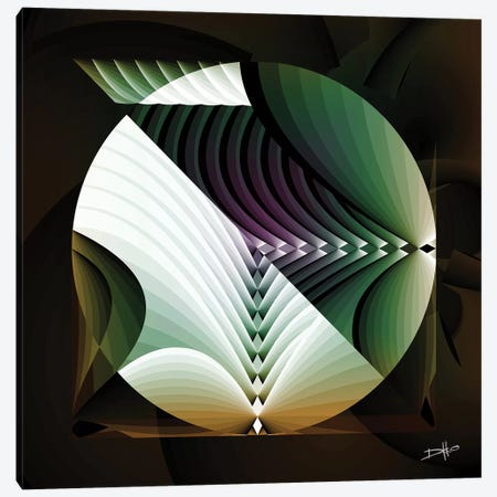 Sonosphere Canvas Print #DKK21} by Darkko Canvas Art Print