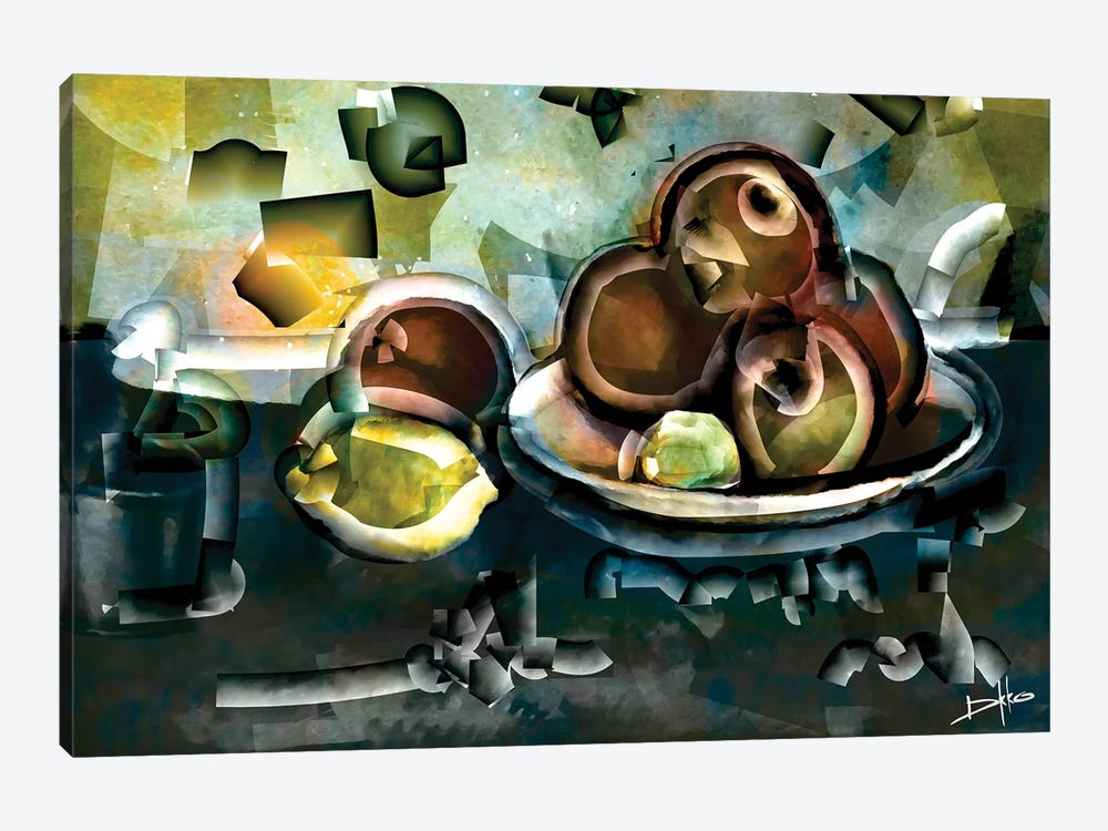 Still Life With Apples 1-piece Canvas Print