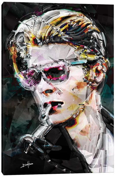 David Bowie Canvas Art Print
