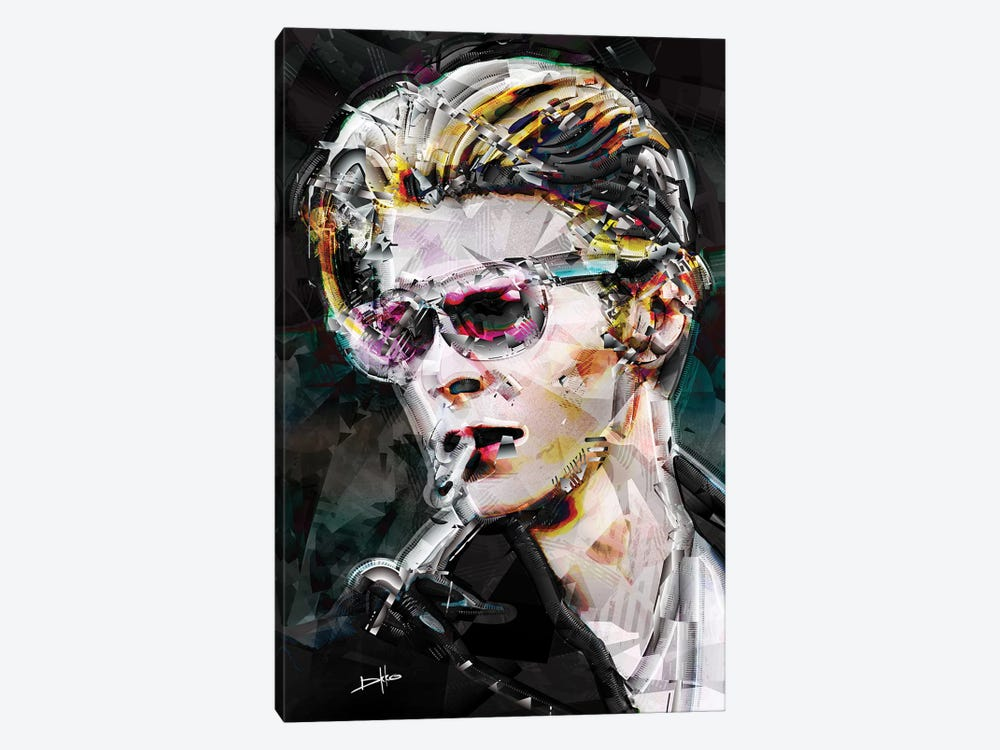 David Bowie by Darkko 1-piece Canvas Artwork