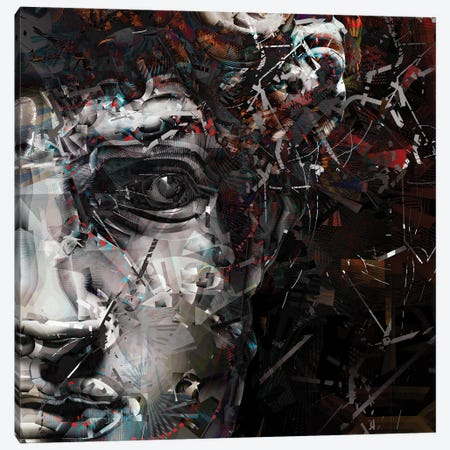 Angelo II 3-Piece Canvas #DKK28} by Darkko Canvas Print