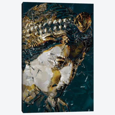 Nymph 3-Piece Canvas #DKK32} by Darkko Canvas Artwork