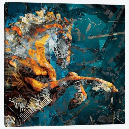Helios I Canvas Print #DKK34} by Darkko Canvas Art Print