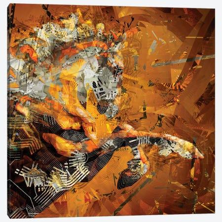 Helios II Canvas Print #DKK35} by Darkko Canvas Print