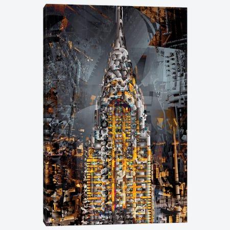 Chrysler Tower Canvas Print #DKK37} by Darkko Canvas Print